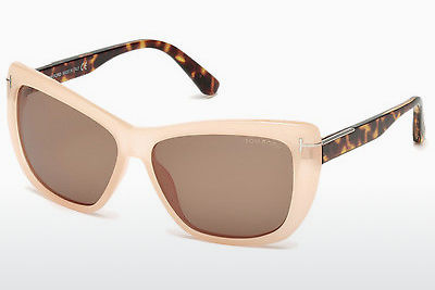 Lunettes de soleil Tom Ford Linsday (FT0434 72J) - Or, Rosa