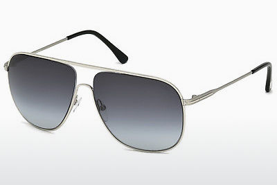 Zonnebril Tom Ford Dominic (FT0451 16W) - Zilver, Shiny, Grey