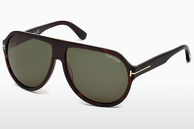 Lunettes de soleil Tom Ford FT0464 52N - Brunes, Dark, Havana
