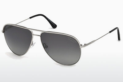 Zonnebril Tom Ford FT0466 17D - Grijs, Matt, Palladium