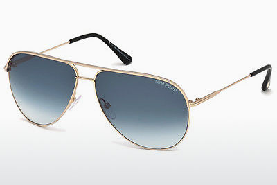 Lunettes de soleil Tom Ford Erin (FT0466 29P) - Or