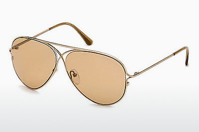 Lunettes de soleil Tom Ford Tom N.4 (FT0488-P 28E) - Or