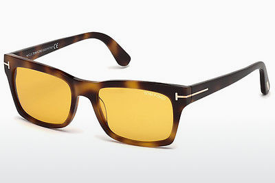 Lunettes de soleil Tom Ford FT0494 52E - Brunes, Dark, Havana