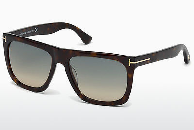 Lunettes de soleil Tom Ford Morgan (FT0513 52W) - Brunes, Dark, Havana