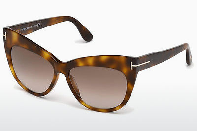 Lunettes de soleil Tom Ford Nika (FT0523 53F) - Havanna, Yellow, Blond, Brown