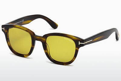 Lunettes de soleil Tom Ford Garett (FT0538 50E) - Brunes, Dark