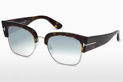 Lunettes de soleil Tom Ford Dakota (FT0554 52X) - Brunes, Dark, Havana