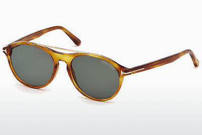 Lunettes de soleil Tom Ford Cameron (FT0556 53N) - Havanna, Yellow, Blond, Brown