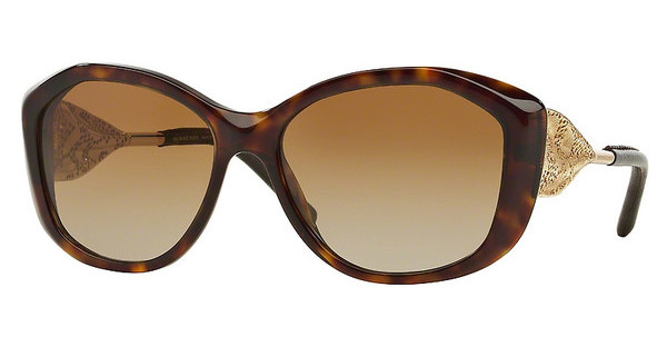 Burberry BE4208Q 3002T5 POLAR BROWN GRADIENTDARK HAVANA