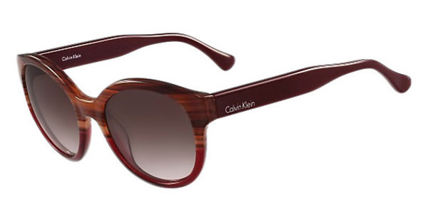 Calvin Klein CK4313S 505 STRIPED HAVANA RED