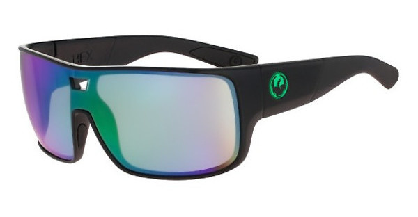 Dragon   DR HEX 045 SHINY BLACK/GREEN ION