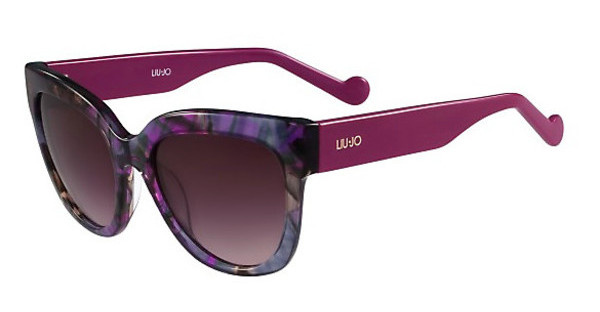 Liu Jo LJ650S 037 STRIPED GREY LILAC