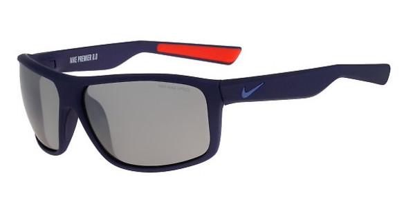 Nike NIKE PREMIER 8.0 EV0792 404 MATTE MIDNIGHT NAVY/OCEAN FOG WITH GREY W/SILVER FLASH LENS