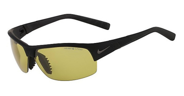 Nike SHOW X2 PH EV0672 003 MATTE BLACK WITH MAX TRANSITIONS OUTDOOR LENS LENS