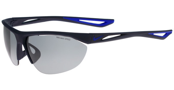 Nike TAILWIND SWIFT EV0916 440 MATTE OBSIDIAN/RACER BLUE WITH GREY W/ SILVER FLASH LENS LENS