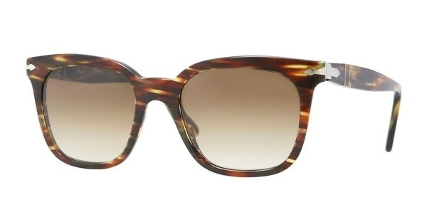Persol PO2999S 938/51 CRYSTAL BROWN GRADIENTGREEN STRIPED BROWN