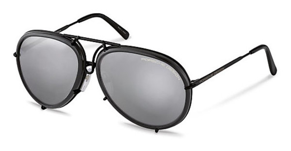 Porsche Design P8613 A mercury, silver mirrored + brownblack