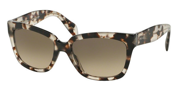 Prada PR 07PS UAO3D0 LIGHT BROWN GRAD LIGHT GREYSPOTTED OPAL BROWN