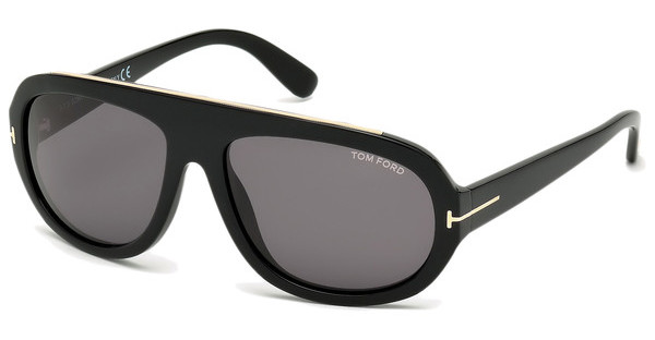 Tom Ford FT0444 01A grauschwarz glanz