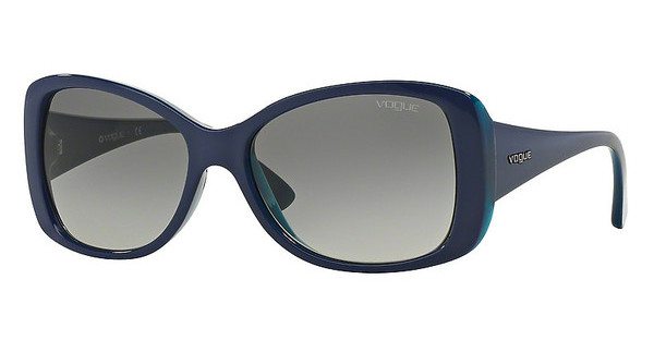 Vogue VO2843S 227811 GREY GRADIENTTOP BLUETTE/TRANSPARENT AZURE