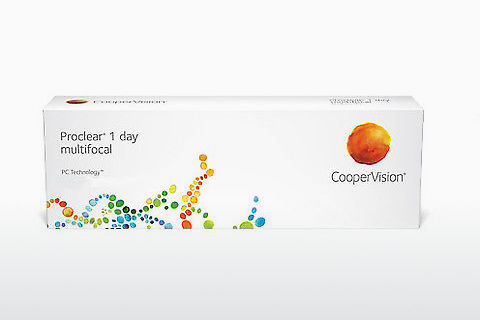 Lentilles de contact Cooper Vision Proclear 1 day multifocal PCLM30