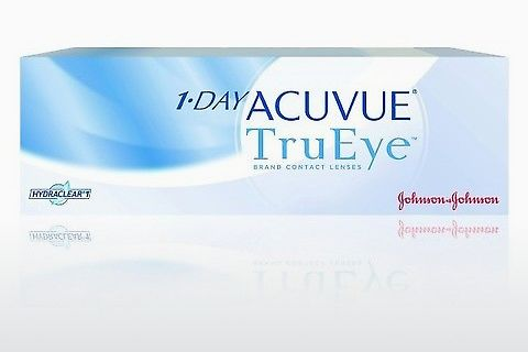 Lentilles de contact Johnson & Johnson 1 DAY ACUVUE TruEye 1D4-30P-REV