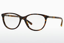 Lunettes design Burberry BE2205 3002 - Brunes, Havanna