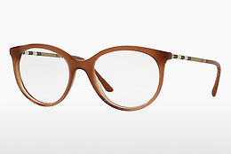 Lunettes design Burberry BE2244Q 3173 - Brunes