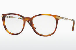 Lunettes design Burberry BE2255Q 3316 - Brunes, Havanna