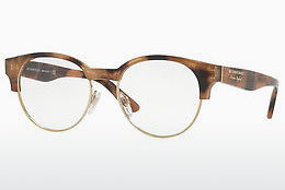 Lunettes design Burberry BE2261 3641 - Brunes, Havanna, Or