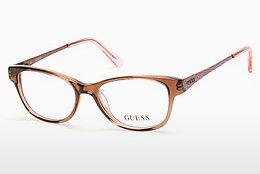 Lunettes design Guess GU9135 047 - Brunes, Bright