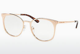 Lunettes design Michael Kors NEW ORLEANS (MK3022 1026) - Rose, Or