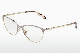 Lunettes design Tiffany TF1127 6125 - Rose, Or
