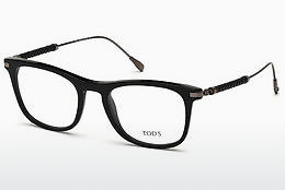 Lunettes design Tod's TO5183 001 - Noires, Shiny