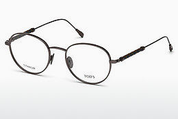 Lunettes design Tod's TO5185 008 - Grises, Shiny