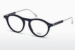 Lunettes design Tod's TO5188 090 - Bleues, Shiny