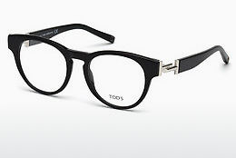 Lunettes design Tod's TO5190 001 - Noires, Shiny