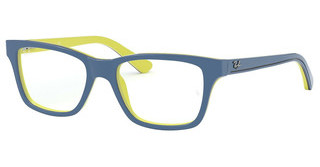 Ray-Ban Junior RY1536 3819 TOP BLUE ON YELLOW/BLACK