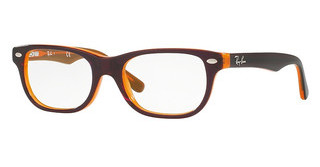 Ray-Ban Junior RY1555 3674 TOP BROWN ON ORANGE FLUO