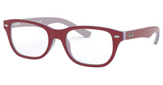 Ray-Ban Junior RY1555 3821 TOP RED ON GREY/BLUE