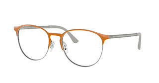 Ray-Ban RX6375 2949 GUNMETAL TOP ON ORANGE
