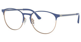 Ray-Ban RX6375 3053 MATT BLUE ON RUBBER COPPER
