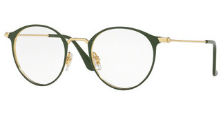 Ray-Ban RX6378 2908 GOLD/GREEN