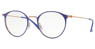 Ray-Ban RX6378 2972 COPPER ON TOP VIOLET