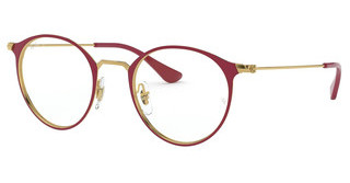 Ray-Ban RX6378 3028 GOLD ON TOP AMARANTH