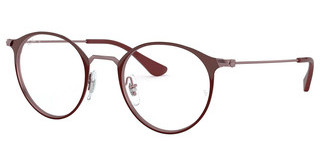 Ray-Ban RX6378 3070 TOP BORDEAUX ON TRASP BORD