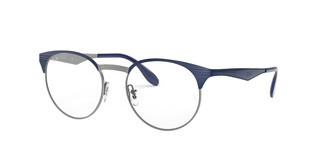 Ray-Ban RX6406 2906 GUNMETAL/SHINY BLUE