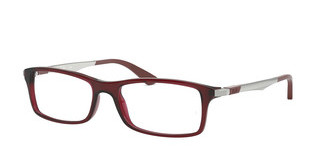 Ray-Ban RX7017 5773 TRANSPARENT RED