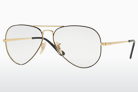Lunettes design Ray-Ban Aviator (RX6489 2946)