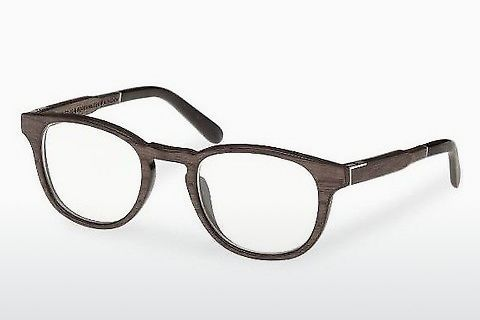 Lunettes design Wood Fellas Bogenhausen (10911 black oak)